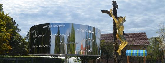 """FOTO: Što prikazuje spomenik """"Tri otajstva"""""""